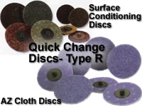 Type R- Quick Change Discs