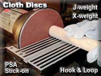 Sungold Cloth Sanding Discs